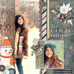 GingerScraps :: Kits :: Catching Snowflakes Digital Kit by JB Studio