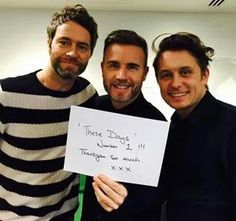 Gary has a good smile, HD has a stalker smile and Mark has a perfect smile❤xxxx Perfect Smile, Good Smile, Howard Donald, Mummy's Boy, Mark Owen, Know Who You Are, Music Tv, Sweet Memories, Great Bands