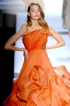 Christian Dior - lovely orange