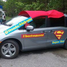 It's the SUPER VAN! #bestvanever