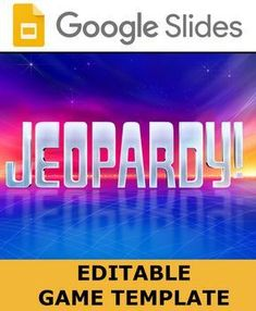53 best google slide games images on pinterest jeopardy game template fandeluxe Gallery