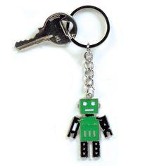 Robot figür sevenlere sevimli bir robot anahtarlık... #robot #anahtarlik #kliksa #varsayoksakliksa