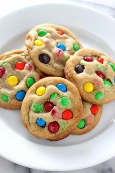 Brown Butter M&M Cookies - omg so yummy!