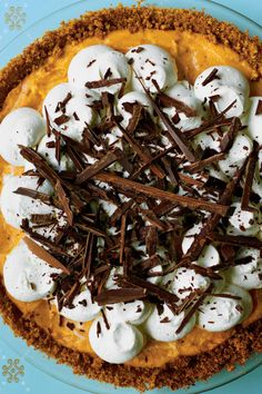 Splurge-Worthy Thanksgiving Desserts: Black Bottom Pumpkin Pie