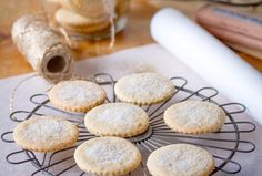 The taste of these old-fashioned sweet buttery biscuits take me straight back to my childhood home in Stellenbosch, where I baked several batches of these each year before our annual Christmas holiday in Keurboomstrand. They are delicately spiced with nutmeg and cinnamon, and they're just heavenly dipped in warm tea.