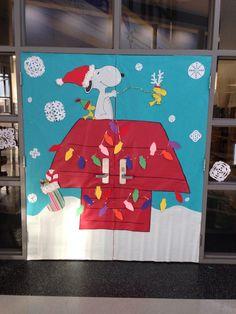 Snoopy Winter Bulletin Board For Ren Preschool