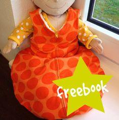 Freebook - Schlafsack für Puppe (oder auch für Frühchen)
