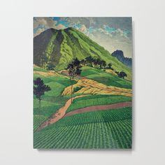 Crossing people's land in Iksey by Kijiermono https://society6.com/product/crossing-peoples-land-in-iksey-fba_metal-print?curator=drpen&utm_content=buffer957ef&utm_medium=social&utm_source=pinterest.com&utm_campaign=buffer #art #society6 #artist #buyart  Kijiermono: I am deeply inspired by the masters of Japanese Ukiyo-e painting, and mix drawing, painting and digital collage to mix, interpret and match parts of my favourite pieces – some very well known and others anonymous and underground.