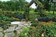 Veggie Garden +Cutting Garden