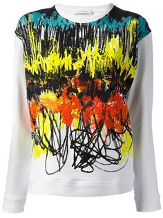 Shop CEDRIC CHARLIER Long Sleeved Sweater from Farfetch