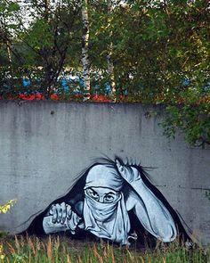 "Pasha Russian Banksy""-Has Passed Away *Graffiti/Street Artist Street Art Banksy, Banksy Art, Graffiti Artwork, 3d Street Art, Amazing Street Art, Art Mural, Street Artists, Amazing Art, Bansky"