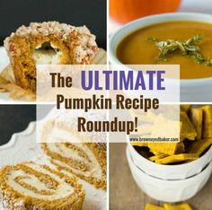 The Ultimate Pumpkin Recipe Roundup