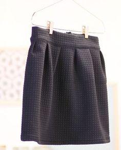 Tuto vidéo couture jupe