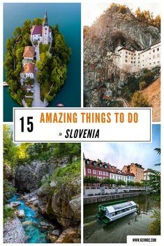 Slovenia is such a diverse country, with plenty of things to do. If you're loo… Slovenia is such a diverse country, with plenty of things to do. If you're looking for things to do in Slovenia, this is the perfect guide for you! Travel Tours, Europe Travel Tips, European Travel, Places To Travel, Places To See, Travel Destinations, Travel Guide, Travel Things, Visit Slovenia