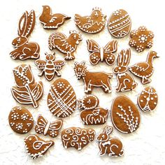 Gingerbread Cookies, Easter, Sugar, Desserts, Food, Gingerbread Cupcakes, Tailgate Desserts, Deserts, Easter Activities