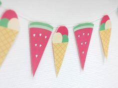 Guirnalda de helados