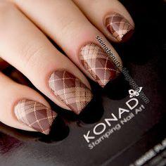 Sisina Beauty : Обзор плитки для стемпинга Konad SQUARE image plate 13