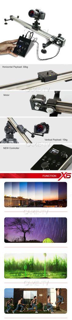 Video Studio Camera Electronic Control Slider Time Lapse [QNX6-10+DC10]… Camera Slider, Video Studio, Camera Gear, Control, Arduino, Sliders, Filmmaking, Studios, Money
