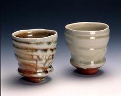 4 stoneware yunomi
