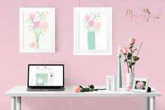 Roses. Designs by Mandy Joy. www.mandyjoy.com
