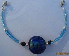 Blue Charm Bracelet by SummerCAmber on Etsy, $6.00