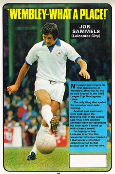 Jon Sammels Leicester City Fc, Laws Of The Game, English Football League, Football Images, Football Memorabilia, Association Football, Most Popular Sports, Gold Rush, World Cup