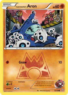 Team Magma's Aron