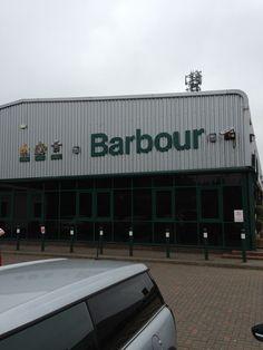 Barbour Factory Shop in Jarrow, South Tyneside