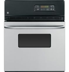 GE® 24 Electric Single Standard Clean Wall Oven Oven Cleaning, Cleaning Walls, Electric Wall Oven, Stainless Steel Oven, Single Oven, Appliance Packages, Kitchen Timers, Oven Racks, Cool Kitchens