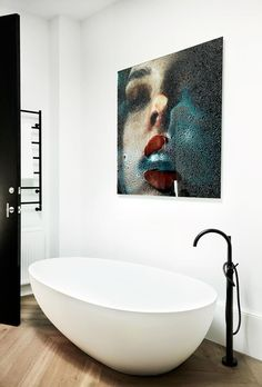 A muted palette of alternating black and white rooms lends a pleasing rhythm to this sophisticated Melbourne home with French and Belgian influence. Steel Frame Doors, Bathroom Design Inspiration, Melbourne House, Modern Art Deco, Home Decor Pictures, Top Interior Designers, White Rooms, Formal Living Rooms, Cheap Home Decor