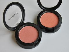 I love my MAC Blushes but I think I lost those :( don't know where the hell they are! Those are Stunner and Supercontinental, both super nice on my fair skin! Love those!