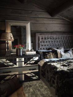 I love the combination of rustic and glamor
