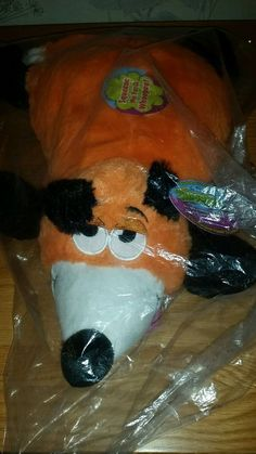 Snuggle Pets The Original Whoopee Pet Cushion - Fox - New