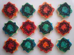 Serafina and the Black Cloak Cookies - One Dozen Decorated Cookies