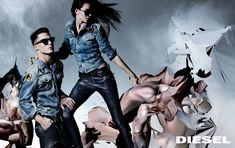 Colton Haynes for Diesel Fall/Winter 2014 Campaign