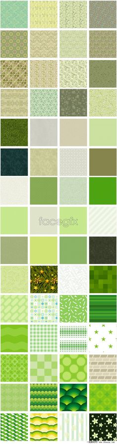 Green pattern page background Pack