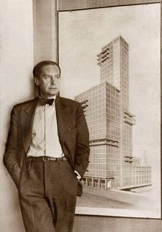 Architect Walter Gropius.