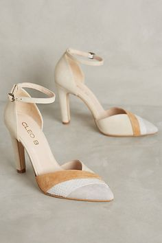 cb8607e619e Cleo B Ember Heels  anthropologie Fancy Shoes