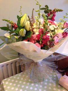 Natural handtied gift bouquet