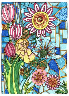 Creative Haven Entangled Coloring Book (Creative Haven Coloring Books): Dr. Angela Porter:  By Bella-Bella (By the sea ~~~) on Jul 19, 2015