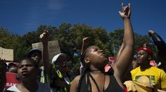 Why South African Students Say The Statue Of Rhodes Must Fall | NPR