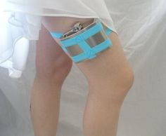 Flask Garter WITHOUT Flask You choose the color by GartersByLori - StyleSays