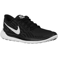 Nike Free 5.0 2015 - Women's - Running - Shoes - Black/Dark Grey/Dove... (4,120 DOP) ❤ liked on Polyvore featuring shoes, athletic shoes, nike shoes, kohl shoes, nike, black running shoes and dark grey shoes