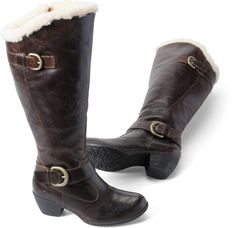 Born Womens Gira in Canoe Shearling Lined on bornshoes.com