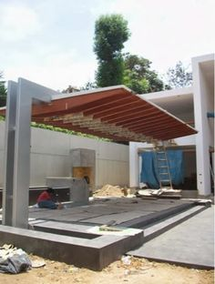 Design and construction of wooden roofs in Lima