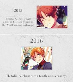 Hetalia - 10th anniversary!❤ 4/4
