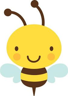 Create a Critter - Bee Create A Critter, Bee Party, Cute Clipart, Bee Crafts, Bee Theme, Cute Drawings, Baby Quilts, Baby Animals, Art For Kids