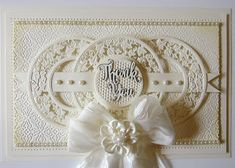 Thank You (PartiCraft (Participate In Craft)) Sympathy Quotes, Sympathy Cards, Greeting Cards, Sue Wilson Dies, Paper Crafts, Diy Crafts, Embossing Folder, Thank You Cards, Birthday Cards