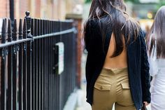 Backless Sweaters Are Trending 300% More Than Last Year via @WhoWhatWearUK