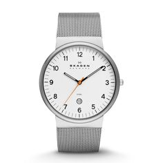 Skagen-  Ancher Steel Mesh Watch